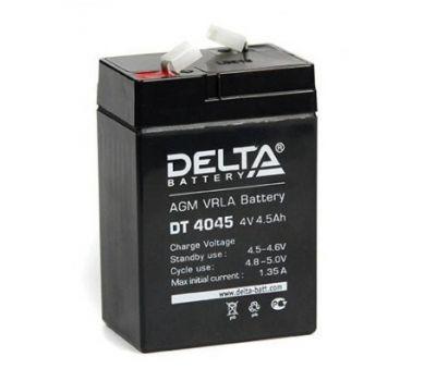 Delta DT 4045 — Аккумулятор для фонарей ЭРА, Космос, Облик, Navigator, Camelion