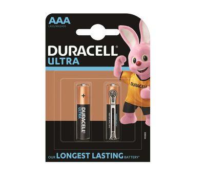 Батарейка Duracell Ultra Power AAA LR03 (блистер 2 шт.)