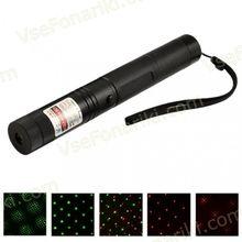 Двухцветная лазерная указка 303 200mW