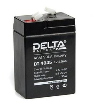 Фото 1 аккумулятора Delta DT 4045