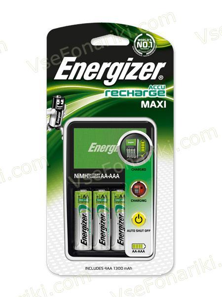 Фото 2 зарядного устройства Energizer Maxi Charger +4 AA 2000mAh