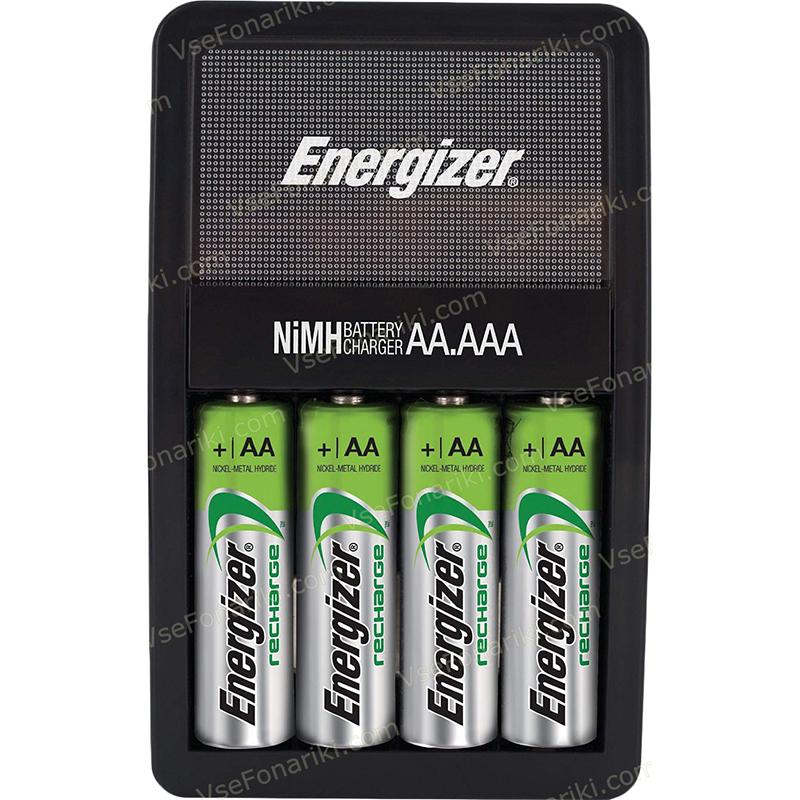 Фото 1 зарядного устройства Energizer Maxi Charger +4 AA 2000mAh