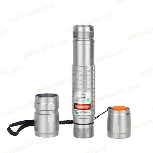 Зеленая лазерная указка (водонепроницаемая) 4