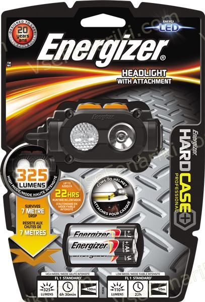 Фото 2 фонаря Energizer Hard Case Headlight