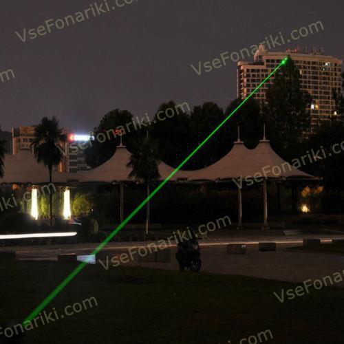 Фото 4 Зеленая лазерная указка 303