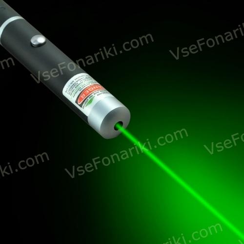 Фото Зеленая лазерная указка 5мВт