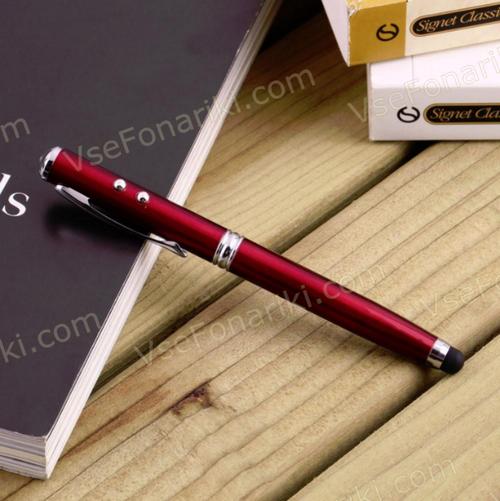 Фото 5 Красная лазерная указка-ручка 4в1