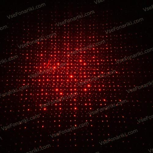 Фото Красная лазерная указка с насадками - 12