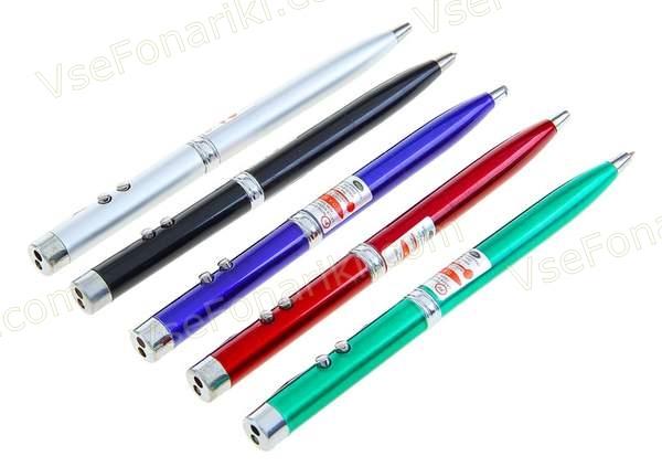 Фото Красная лазерная указка-ручка А1
