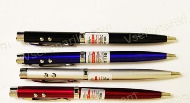 Фото Красная лазерная указка-ручка 2