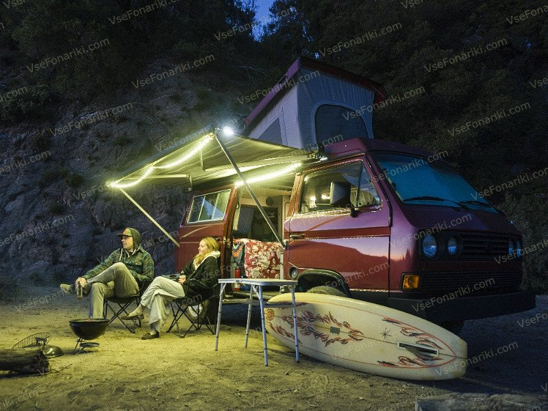 Фото Luminoodle - освещение автокемпинга