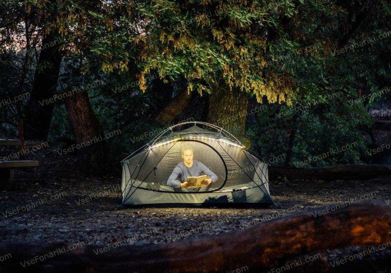 Фото Luminoodle - освещение палатки