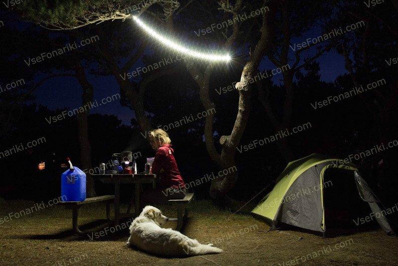 Фото Luminoodle - освещение лагеря