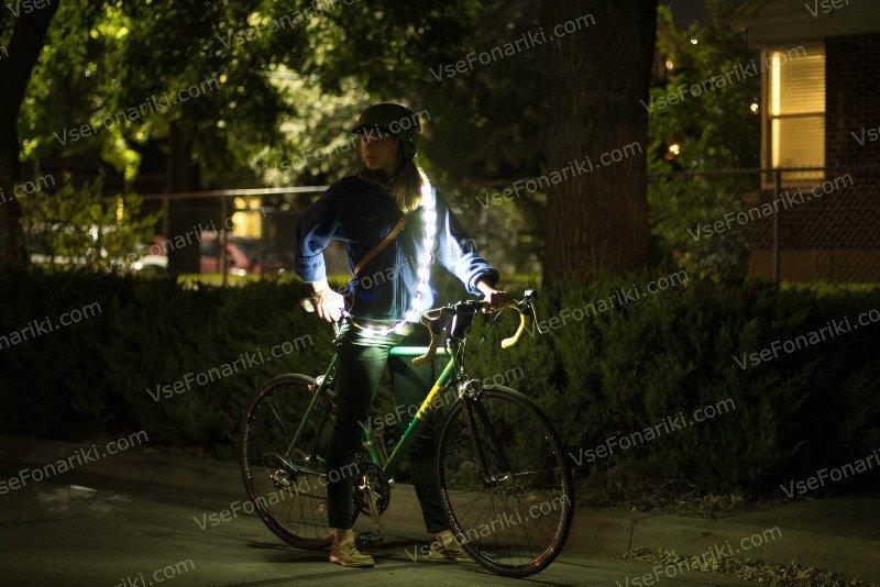 Фото Luminoodle - велосипед