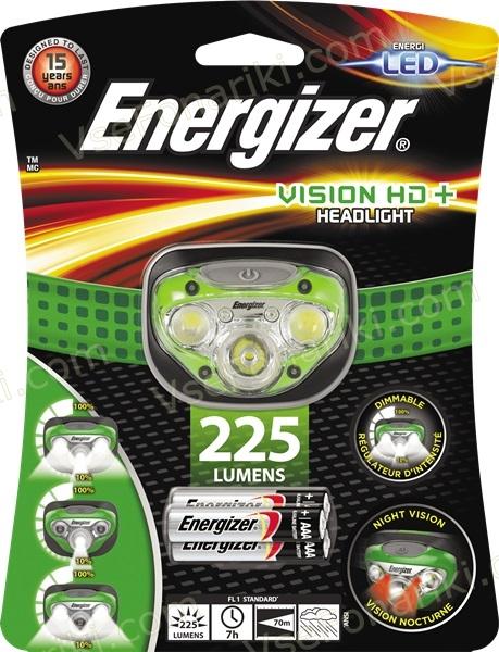 Фото1 фонаря Energizer VISION HD+