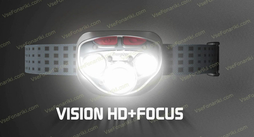 Фото 2 фонаря Energizer  VISION HD+